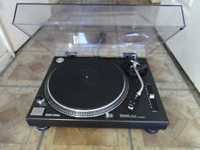 TECHNICS SL1200mk2 BLACK PROFESSIONAL DIRECT DRIVE TURNTABLE + STYLUS