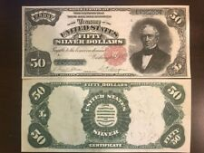 Reproduction Copy 1891 Edward Everett US Paper Money Currency