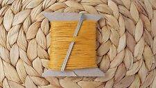 STRONG NATURAL LINEN LEATHER SEWING THREAD FOR HAND STITCHING+ 2 NEEDLES  18/3 Y
