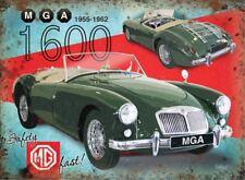 15x20cm MGA 1600 classic sports car metal advertising wall sign