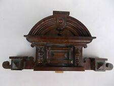 Antique Architectural Hand Made Wooden Furniture Crest/Pediment in Renaissance S