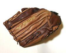 Mizuno 12.5 Inch RHT Baseball Softball Fastpitch Leather Glove GFE 1251