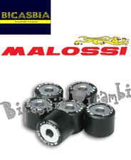 9683 - SERIE RULLI VARIATORE MALOSSI 19X15,5 GR. 7,2 PIAGGIO ZIP 50 2T 2000->