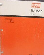 J. I. Case, Parts Catalog, 2394 Tractors...MC