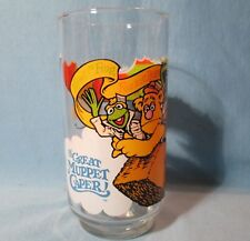 Great Gonzo Great Muppet Caper McDonalds 1981 Promotion Glass Tumbler