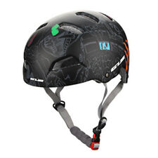 Cycling Bicycle Adult Mens Bike Helmet EPS PC 3 Color With Visor Mountain Black M(55-59cm)