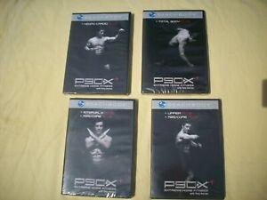 NEW P90x Plus - 4 DVD Set - Kenpo Cardio Total Body Upper & Interval X Abs Core