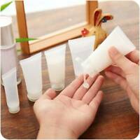 10Pcs Refillable Soft Tube Empty Cosmetic Bottle Travel Squeeze Container Tube