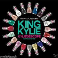 SINFUL COLORS*(1) Nail Polish KING KYLIE KYLIEDESCOPE JENNER 2 Step *YOU CHOOSE*