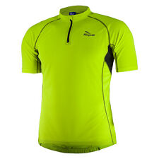 Cycling Jersey Short Sleeve Men 1/2 Zipper, Comfort Fit Perugia Yellow