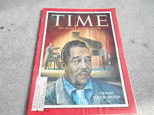 AUG 20 1956 TIME vintage news magazine ** DUKE ELLINGTON