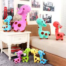 Mignon Girafe Animal Peluche Poupée Douce Cadeau Pour Petit Bébé Anniversaire NF