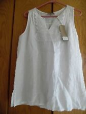 c5c09772bd CARLA CONTI 100%LINEN Tank Size-Large MADE IN ITALY NWT