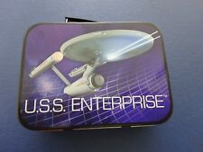 Small 2010 Star Trek U.S.S. Enterprise Tin, New and Unused