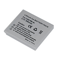 Battery for Canon NB-4L PowerShot SD450 SD600 SD630 SD750 SD780 IS SD1400IS