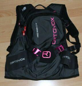 Ortovox Rucksack Free Rider 22 W Schwarz Pink PROTEKTOR Snowboard Wandern