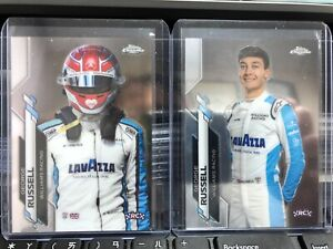 2020 Topps Chrome Formula 1 Racing George Russell #19,#192 Base Lot 2: