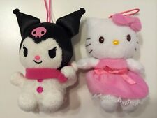 hello kitty christmas 2013 ornaments plush kuromi snowman angel lot sanrio