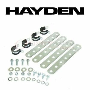 Hayden Engine Oil Cooler Mounting Kit for 1987-1995 Subaru Justy - Belts xi