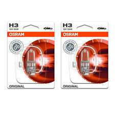 2x Opel Corsa A (Nova) Genuine Osram Original Fog Light Bulbs Pair