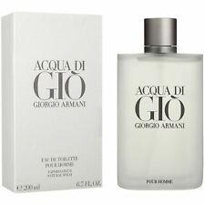 Acqua Di Gio * Giorgio Armani * Cologne Men * Edt * 6.7 / 6.8 oz * New