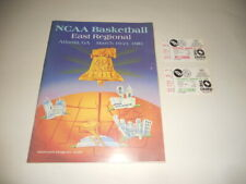 1981 NCAA Basketball Tournament East Regional Program & Tickets NICE