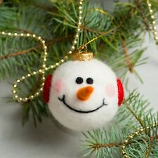 Christmas Ball, Xmas Balls, New Year Ball, Needle felted ball, New Year Ornament