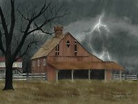 Art Print, Framed or Plaque by Billy Jacobs - Dark and Stormy Night - BJ1113