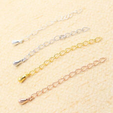 60mm Gold Necklace and Bracelet Extension Extender Chain Tail Links PK-4