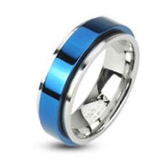 Modeschmuck-Ringe aus Titan ohne Stein für Herren