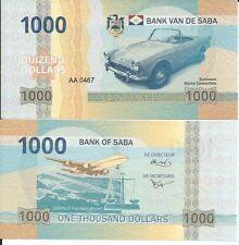 SABA CLASIC BILLETE 1000 DOLARES 2015