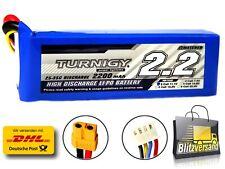 Turnigy 2200mAh 3S 25C-35C 3S Lipo Akku 11,1V Blade,T-rex 450 usw. 30-40 HM92