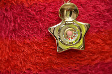 Sailor Moon gold Star Locket Starry Sky Orgel music box Bandai 1995 necklace