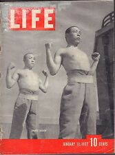 Life January 11 1937 Japanese Soldiers Gd 092916DBE2
