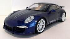Voitures, camions et fourgons miniatures bleu acier embouti pour Porsche