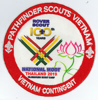 100 YEARS OF ROVERS SCOUT CENTENARY - THAILAND ROVER MOOT 2019 VIETNAM CON PATCH