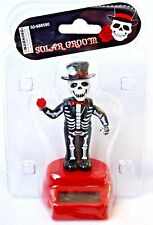 Solar Skeleton Groom Solar Powered Dancing Toy NEW