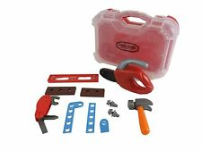 Kids Real Action Tool Kit With  12 PCS Tool And Case