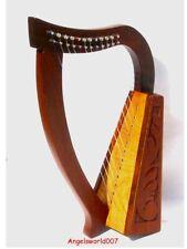 Irisch Keltische Kinder Harfe Harp 12 Saiten  Harpe celtic incl Case Tasca