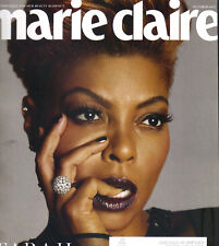 TARAJI P HENSON Marie Claire Magazine 10/17 UNCENSORED & UNSTOPPABLE
