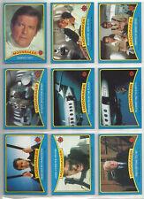 James Bond 007 Moonraker - Complete Card / Sticker Set (99/22) - 1979 Topps - NM