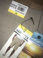 Hang Ten Mens Stretch Fabric HYBRID SHORTS TAN KHAKI  (CORIANDER)  Sz  32 NEW