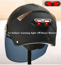 Helmet Rear Warning Safety Lights Bicycle Cycling Motorcycle Riding Red led Safe