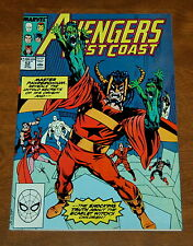 Avengers West Coast 52 -- Master Pandemonium Marvel Comics John Byrne VF/NM
