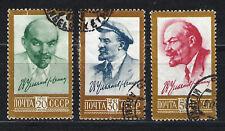 Russia 1961 ritratti di Lenin: SERIE completa SG2583-2585 GU CV £ 13.55