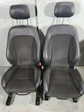 FORD S-MAX TITANIUM 2014 FACELIFT 5 DOOR HALF LEATHER INTERIOR 7 SEATS SET