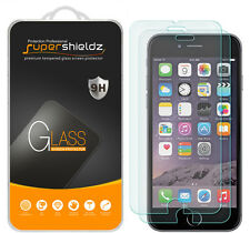 2X Supershieldz Tempered Glass Screen Protector Saver For Apple iPhone 6 / 6S