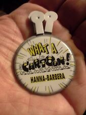 "Cartoon Network ""What A Cartoon"" Promotional Pin Hanna-Barbera 1995 Lot of 5"