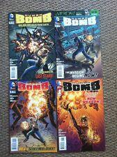 Human Bomb 2013 Dc Comics 1-4 Complete Set 1 2 3 4 Full Run Lot Palmiotti Gray