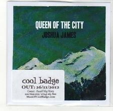 (DL49) Queen of the City, Joshua James - 2012 DJ CD